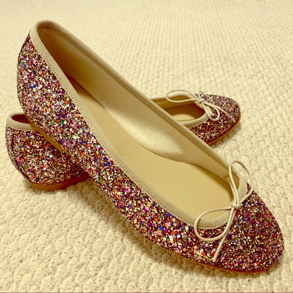 Anniel glitter classic ballerina flat